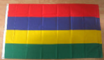 Mauritius Large Country Flag - 3' x 2'.